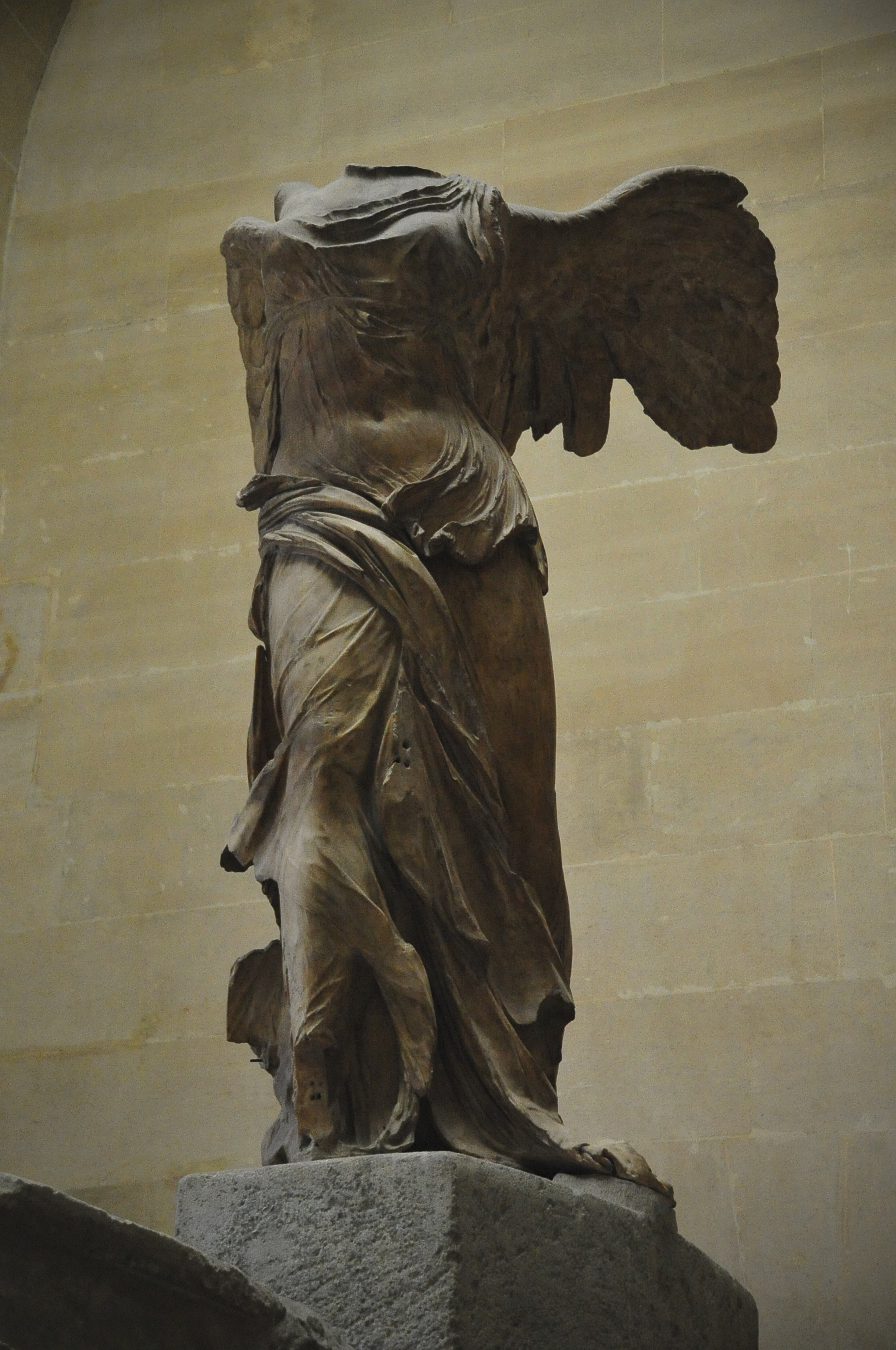 winged victory the nike of samothrace essay One of her most famous renderings is called the winged victory or nike of samothrace the winged victory was discovered in 1862 in samothrace, greece samothrace essays related to nikeof samothrace 1 nike of samothrace.