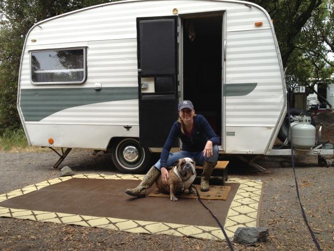 trailer dog
