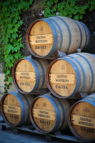 No Napa post is complete without wine barrels