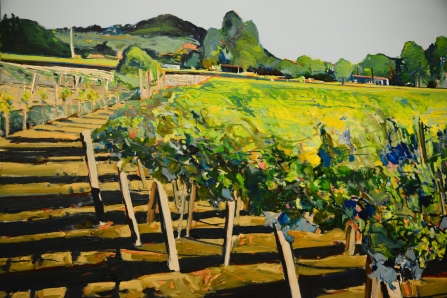 Napa must represent in the art of California exhibit