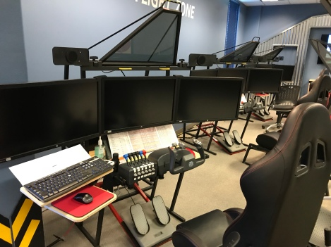 The museum has its own flight simulator program to help kids learn STEM