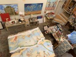 Atist's studio