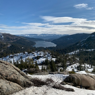 I never go to the Donner area without thinking of the ill fated party who tried to traverse this during the wrong season. It is unthinkable.
